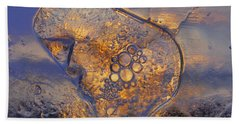 Beach Towel featuring the photograph Ice Land by Sami Tiainen