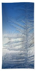 Ice Tree Beach Towel
