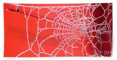 Ice Web Beach Towel
