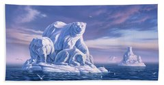 Icebeargs Beach Towel