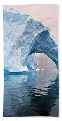 Iceberg Alley Beach Towel by Tony Beck