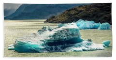 Beach Towel featuring the photograph Iceberg by Andrew Matwijec