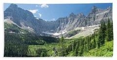 Iceberg Lake Trail - Glacier National Park Beach Towel
