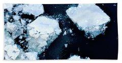 Iced Beauty #1 Beach Sheet