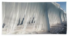 Iced Catwalk Beach Towel