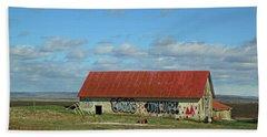Iceland Artfully Stylish Country Barn Beach Towel