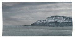 Iceland East Coast Panorama Beach Towel