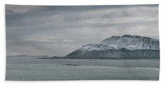 Iceland East Coast Panorama Beach Towel
