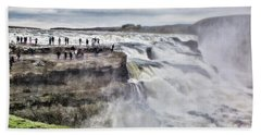Beach Sheet featuring the photograph Iceland by Shirley Mangini