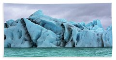 Iceland The Magical Glacier Land Beach Towel