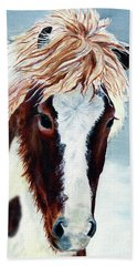 Icelandic Mare Beach Towel by Shari Nees