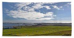 Beach Sheet featuring the photograph Icelandic Panorama by Joe Bonita