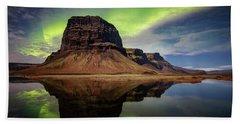 Icelanding Aurora Beach Sheet