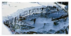 Icicle Bells Beach Towel