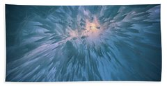Beach Towel featuring the photograph Icicles by Rick Berk