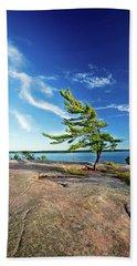 Iconic Windswept Pine Beach Sheet