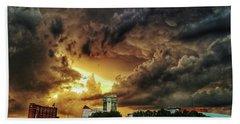Ict Storm - From Smrt-phn Beach Towel