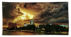 Ict Storm - From Smrt-phn Beach Towel