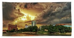 Ict Storm - From Smrt-phn L Beach Towel