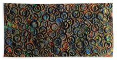 Icy Abstract 12 Beach Towel