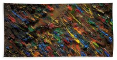 Icy Abstract 5 Beach Towel