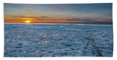 Icy Sunset Beach Sheet