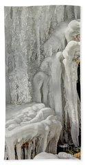 Icy Tendrils Beach Sheet