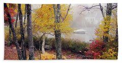 Beach Towel featuring the photograph Idyllic by Betsy Zimmerli