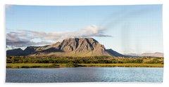 Idyllic Iceland Beach Towel