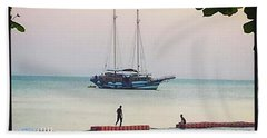 Beach Towel featuring the photograph Idyllic Setting To Idle The Time Away by Mr Photojimsf