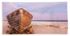 Beach Sheet featuring the photograph If I Had A Boat by Peter Tellone