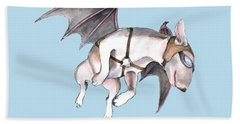 If Pigs Could Fly Beach Towel by Jindra Noewi