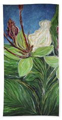 Ifit Flower Guam Beach Towel