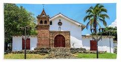 Iglesia De San Antonio Beach Towel