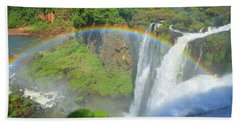 Iguazu Rainbow Beach Towel