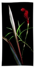 Ikebana Beach Towel by Edward Kreis