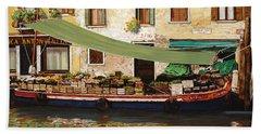il mercato galleggiante a Venezia Beach Towel