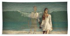 I'll Always Be Beside You Beach Sheet