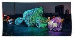Illuminated Clam Lights Beach Sheet