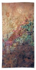 Illuminated Valley II Diptych Beach Towel