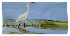 Beach Towel featuring the painting Illumination by Phyllis Beiser