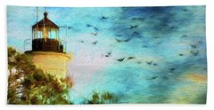 Beach Towel featuring the photograph I'm Here To Watch You Soar II by Jan Amiss Photography