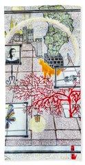 Imagination Beach Sheet by Yury Bashkin