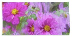Impasto Cosmos Beach Sheet