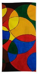 Imperfect Circles Beach Towel