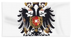 Imperial Coat Of Arms Of The Empire Of Austria-hungary 1815 Transparent Beach Towel