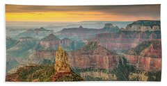Imperial Point Grand Canyon Beach Towel