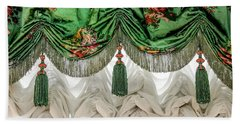 Imperial Russian Curtains Beach Sheet