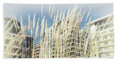 Imperial Wharf Buildings Beach Towel