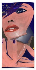 Beach Towel featuring the painting Impossible Dream by Sheila Mcdonald